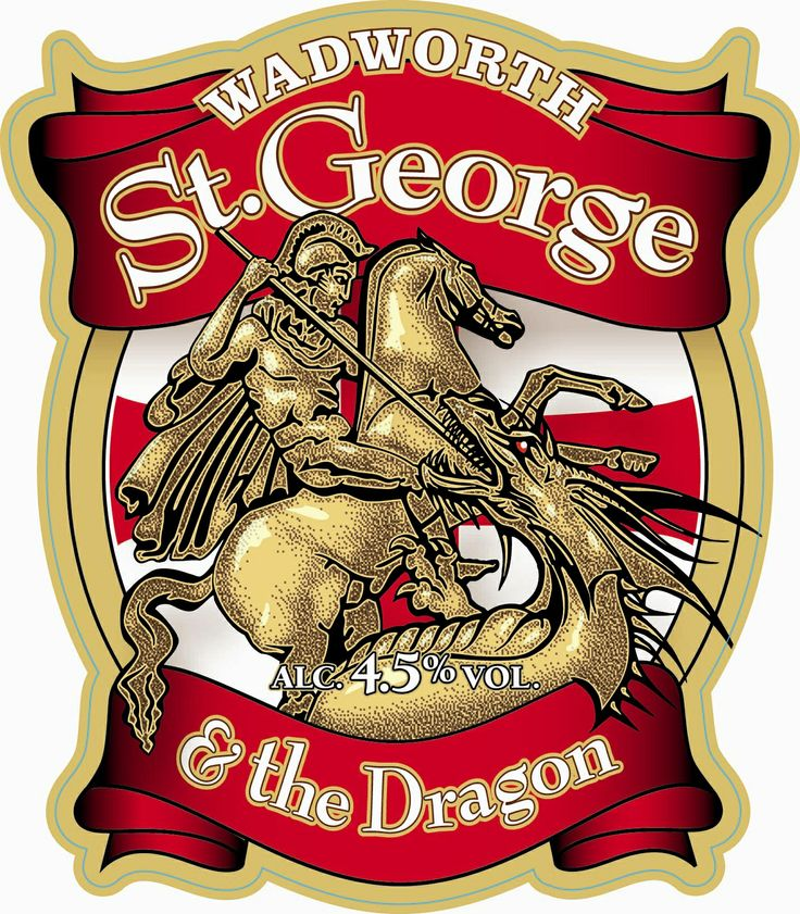ST GEORGE DRAGON | St George and the Dragon Pump Clip