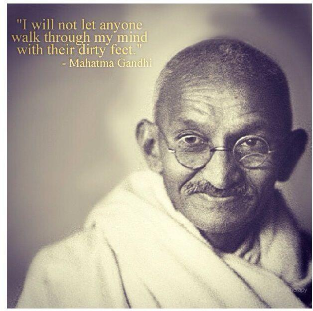 Gandhi was an amazing man!