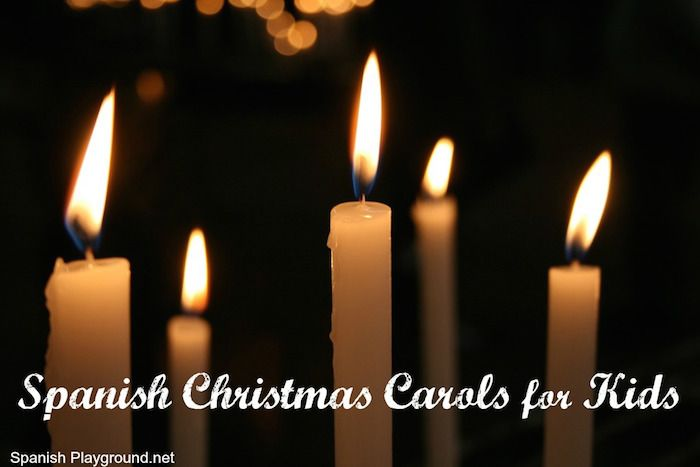 Spanish Christmas carols for children. These Spanish Christmas songs are perfect language learners. http://spanishplayground.net/spanish-christmas-carols-kids/