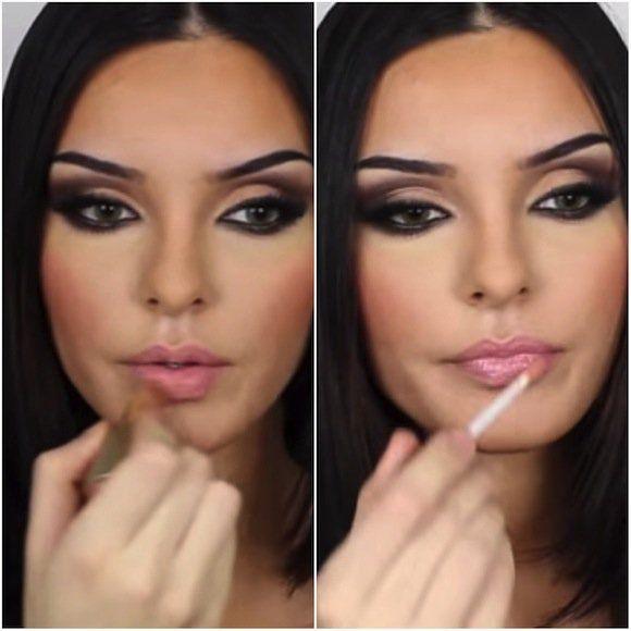 mila kunis makeup tutorial, mila kunis smokey eye makeup