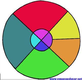 Tangram circular para imprimir - ESPAÇO EDUCAR