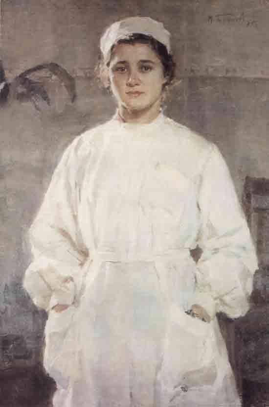 Михаил Божий. «Медсестра». 1955 г.