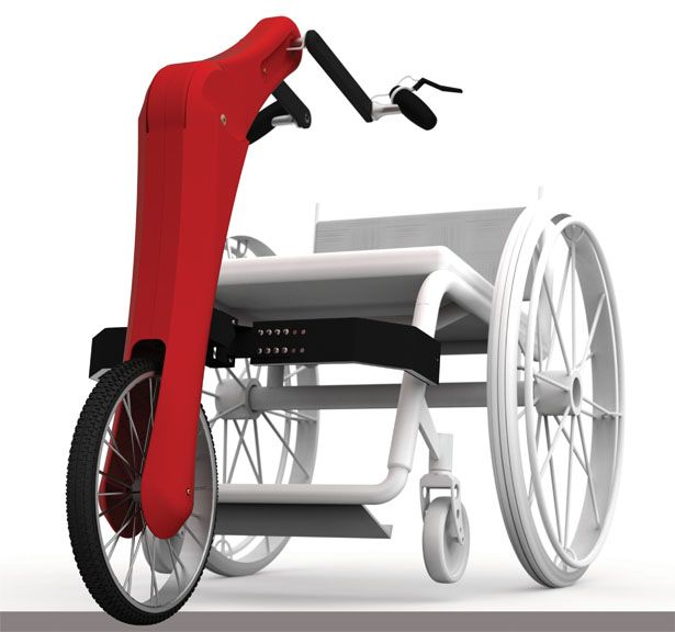 Velo Modular Wheelchair Sports Interface Concept by Mark Wafforne>>> See it. Believe it. Do it. Watch thousands of spinal cord injury videos at SPINALpedia.com