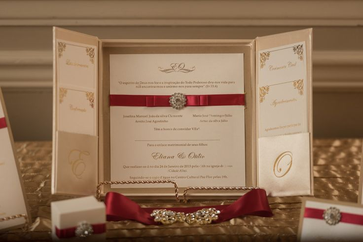 Bespoke The Wedding Event, Regal Red & Gold Wedding, Wedding Personalized Stationary, Wedding Graphic Design