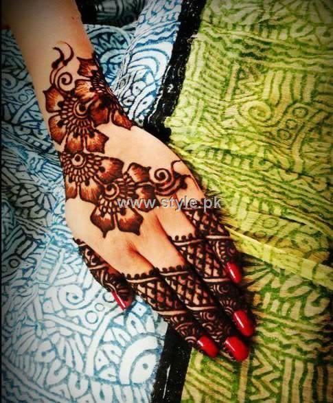 Mehndi Designs 2013 For Girls in Pakistan