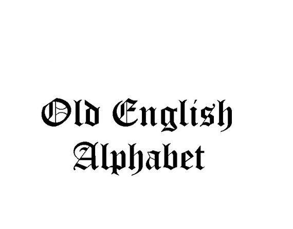 Best 25+ Old English Font Ideas On Pinterest
