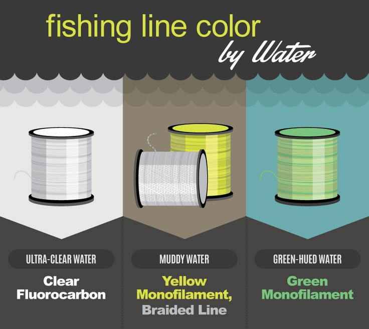 Fishing Line Color By Water