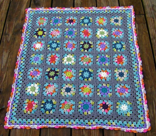 Crochet Afghan Pattern Variegated Yarn : 17 Best images about My Littler Crochet Projects on ...