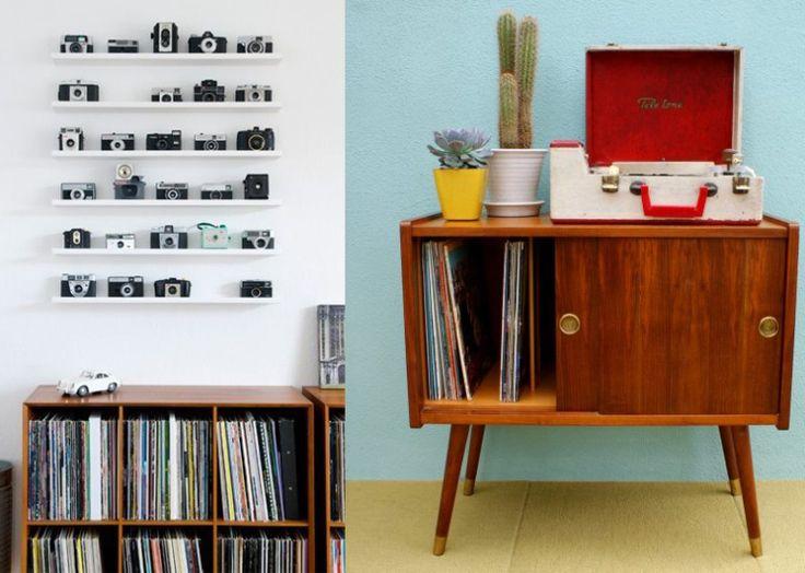 9x vintage kastjes voor je platenspeler