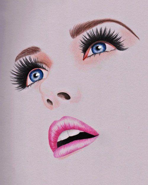 Facial Drawings 16