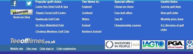 Teeofftimes.co.uk - Investors in People Gold