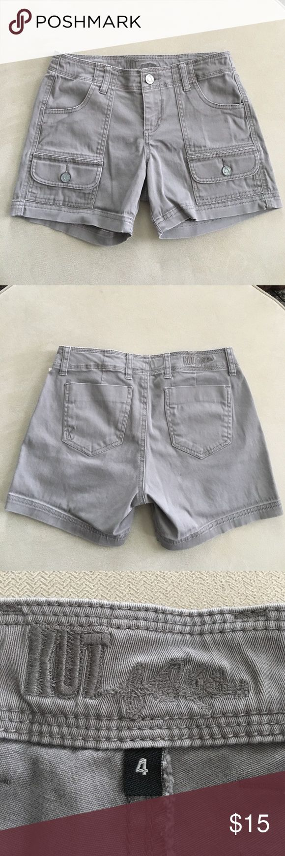 KUT from the Kloth Gray Shorts In good condition. Kut from the Kloth Shorts