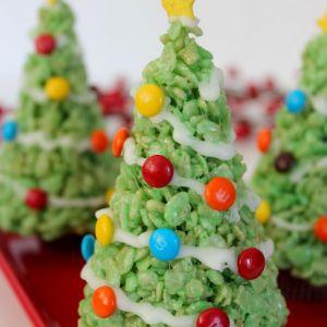 Kerst toetje kerstboom
