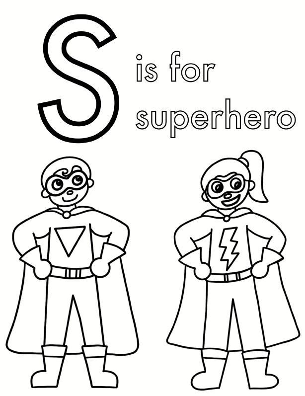 Superhero Adjective Sort Superhero Coloring Pages In 2020 Superhero Coloring Pages Superhero Coloring Coloring Pages