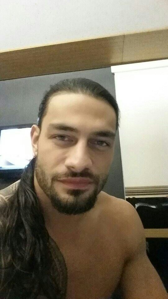 Roman Reigns without a t- Shirt