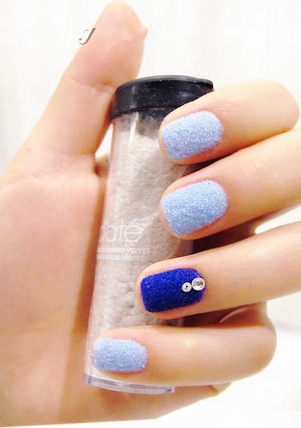 31dc2012 Day 10 Gradient Nails: Best 25+ Velvet Nails Ideas On Pinterest