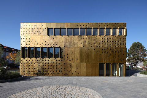 Schimmernde Fassade | Architecture bei Stylepark
