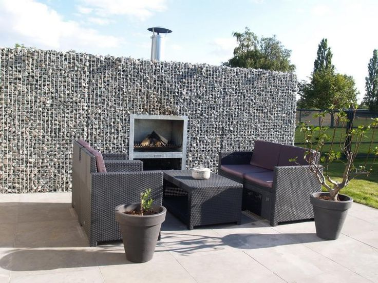 14 best gabionen kamine auf ma images on pinterest fire places backyard patio and gabion wall. Black Bedroom Furniture Sets. Home Design Ideas