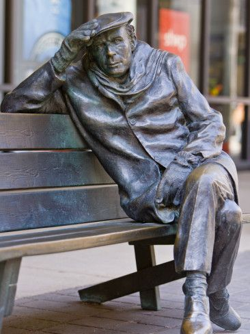 Life-Sized Bronze Statue of Glenn Gould Pianist by Ruth Abernethy, Toronto, Ontario, Canada