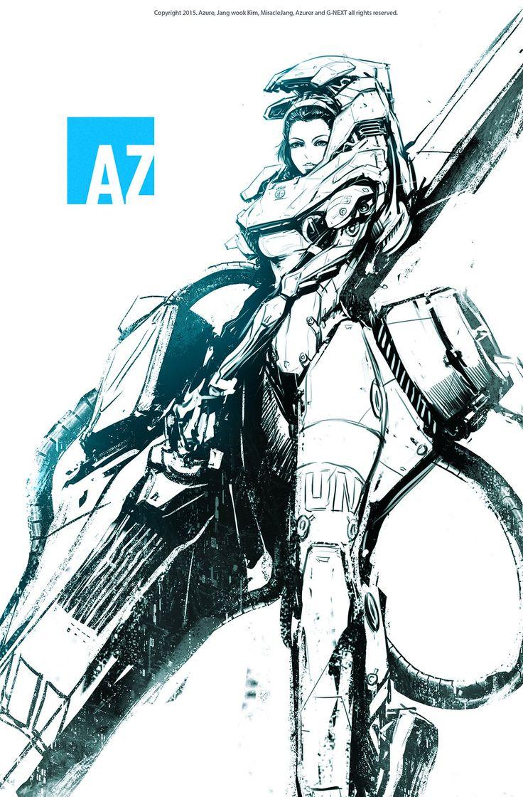 Space troopers, Jang wook Kim on ArtStation at https://www.artstation.com/artwork/space-troopers