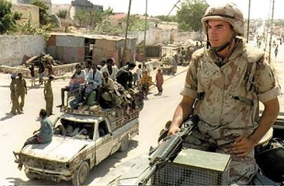 October 3rd and 4th, 1993 mark the dates of the Battle of Mogadishu also known as the Day of the Rangers. The battle was fought by forces of the United States supported by the United Nations Operation in Somalia II (UNOSOMII) and Somali militiamen loyal to Mohamed Farrah Aidid.