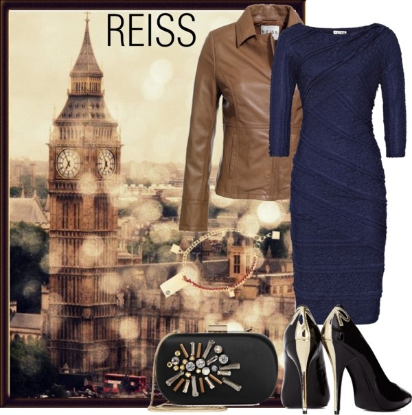 """""""REISS London"""" by nataly212 ❤ liked on Polyvore"""