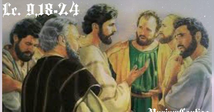 CAMINAR CON CRISTO POR EL CAMINO DE LA CRUZ Y EL SERVICIO Señor Jesús, haz que tu Espíritu ilumine mis acciones y me comunique la fuerza para seguir lo que tu Palabra me revela.   Haz que, como María tu madre, pueda no sólo escuchar sino también poner en práctica tu Palabra. Tú que vives y reinas   con el Padre en la unidad del Espíritu Santo por los siglos de los siglos. Amén. Lc. 9,18-24 IR A SANTORAL DIARIO:SAN ROMUALDO, ABAD - See more…