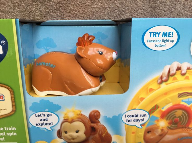Brand new in box - Vtech Toot Toot Animals Train Including SmartPoint Hamster | eBay