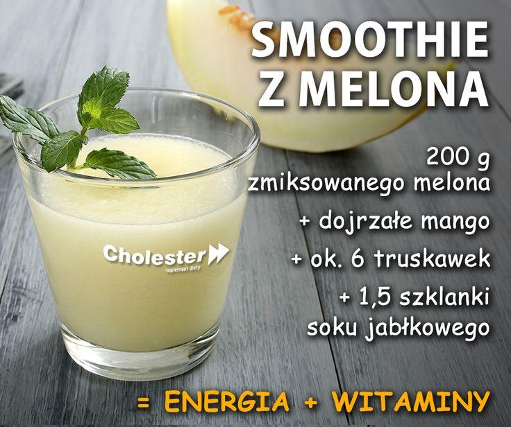 Melon z mango to dobrany duet. Spróbuj!   #smoothie #przepis #jedzenie #melon #witaminy