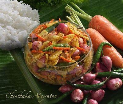 Sinhala Achcharu | Sri Lankan Food recipes