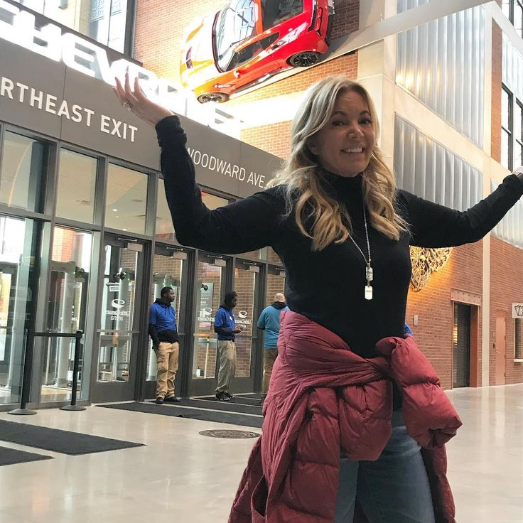 "908 Likes, 29 Comments - Jeanie Buss (@jeaniebuss) on Instagram: ""Detroit fans - saw your new arena today. Might have parked in the wrong spot!!  This is a great…"""