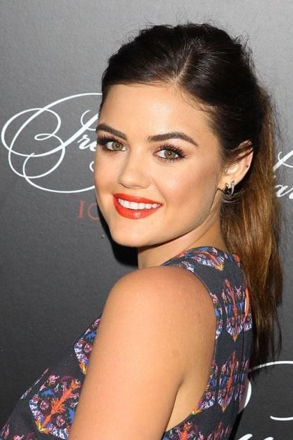 The Beauty Evolution of Lucy Hale | May 2014