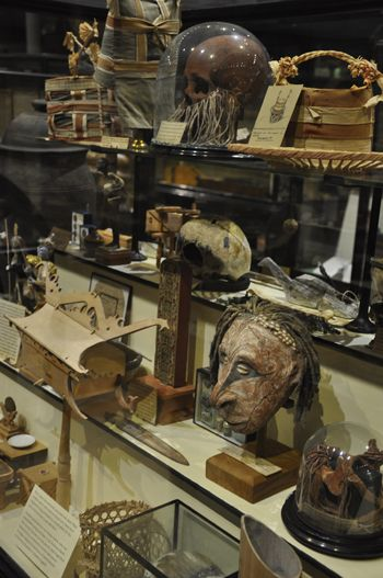 The Pitt Rivers Museum, Oxford University