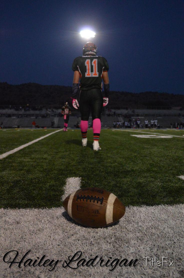 Tyler Haugen on the porterville high school football team. Great friend, great picture :)