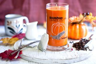 Pumpkin Chai Soy Candle by Diamond Candles  I would LOVE to try this one! @DIAMOND CANDLES