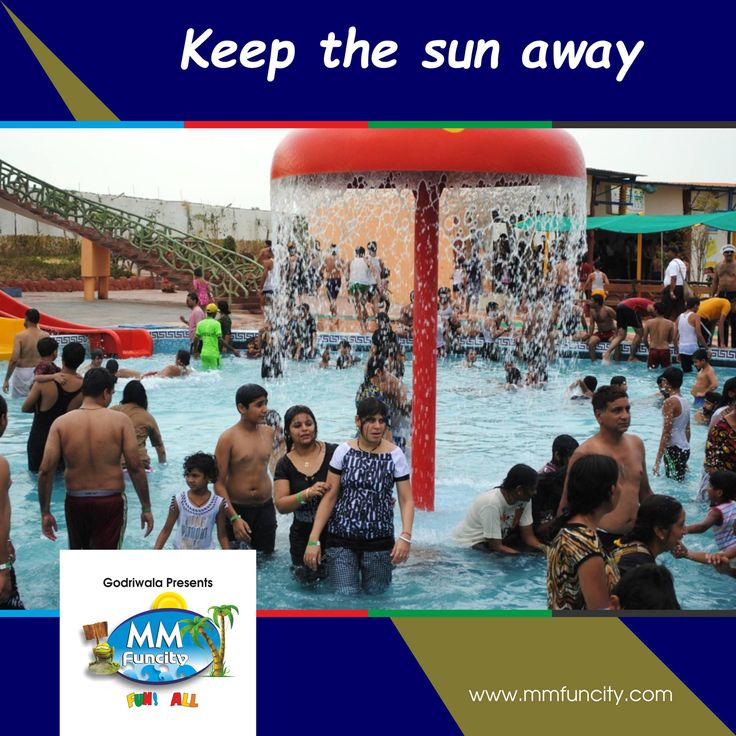 Chill out with your friends and family and keep the sun away. Come to MM Fun City, a perfect place to enjoy JUNE! For More: https://goo.gl/Su9dWZ #MMFunCity #Rides #BestWaterpark #WaterRides #WaterSlides #WaterPark #Thrill #Joy #Excitement #Fun #Raipur