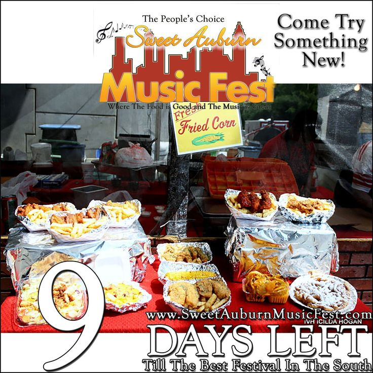 9 More Days till the best festival in the Atl! Something Almost time to get some good Turkey Legs! @sweetauburnmusicfest  #sweetauburnmusicfest #samusicfest #samusicfest2017 #Atlanta #picoftheday #1 #hiphop #randb #musicians #music #soul #jazz #gospel #fest #festival #auburnave #edgewood #4thward #history #vendors #food #international #Georgia #family #friends #people #goodfoodgreatmusic