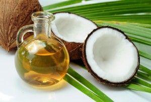 Aceite de coco o manteca de coco