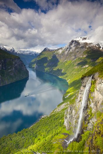 Geiranger Fjord, Mre og Romsdal, Norway