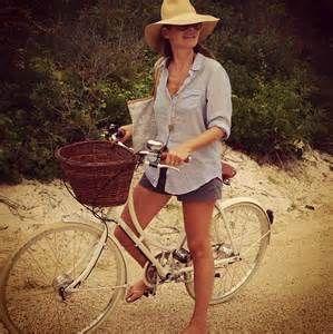 aerin lauder instagram - bike style