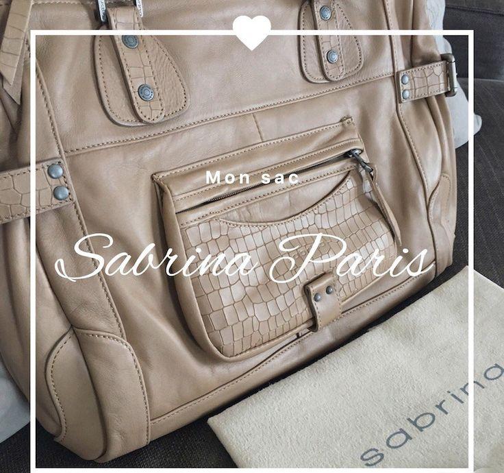 Mon Sac Sabrina Paris : le Camille Croco! Un vrai coup de coeur pour un produit élégant et de qualité.