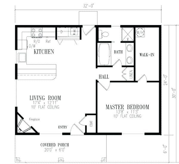 Beautiful Simple Four Bedroom House Plans Design In 2020 One Bedroom House 1 Bedroom House Plans Four Bedroom House Plans