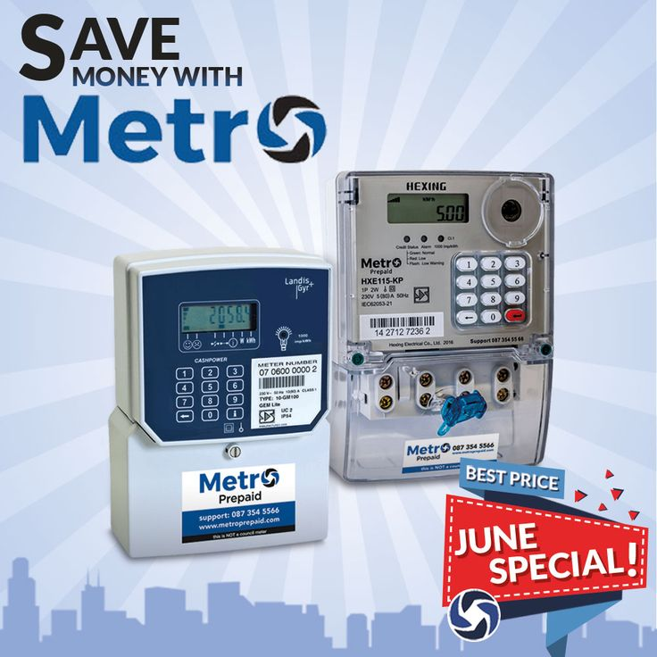 JUNE SPECIAL on Metro Prepaid Electricity Meters - Available online: https://www.livecopper.co.za/collections/metro Learn more about Metro Prepaid Meters - http://metroprepaid.co.za/about/