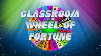 Wheel of Fortune style game.  Easy to use template can be used for any subject area.  What's great about this version is that you can keep score during the game.  No need to exit the program or to keep score on a whiteboard.  Just type in your category, add the blank spaces needed for the phrase or word, then play the game.
