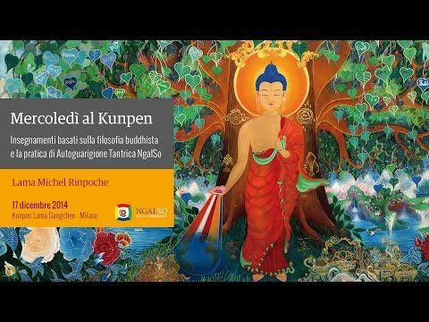 La vita si svolge nel presente, insegnamenti di buddhismo tibetano di Lama Michel Rinpoche - YouTube