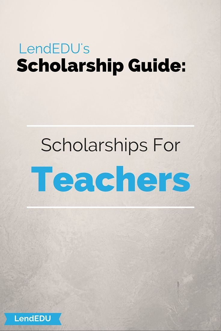 Many scholarship opportunities are available for students who are pursuing a degree in teaching!  Check them out!