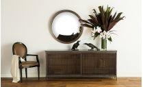 Manu Mirror - Antique Brass, love a convex mirror