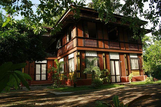 205 besten filipino home style and design bilder auf for Traditionelles thai haus