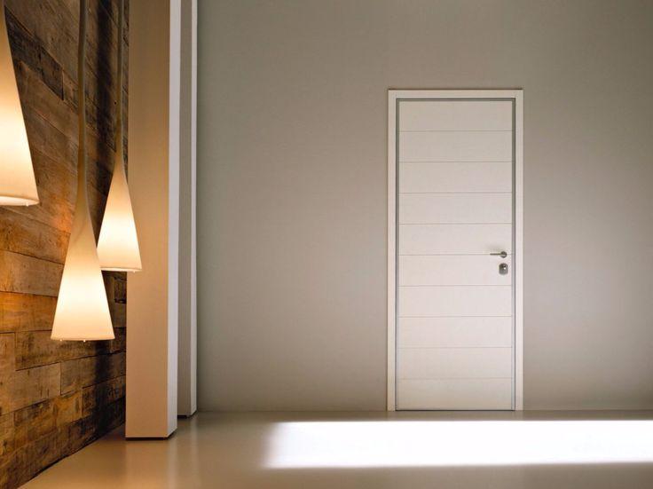 Porta d'ingresso blindata con cerniere a scomparsa MONOLITE - 15.1003 MNT6000 Collezione Design Collection - Monolite By Bauxt