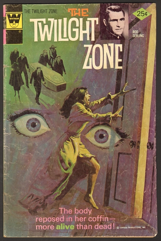 Old Book Cover Zone : Best images about twilight zone comics on pinterest